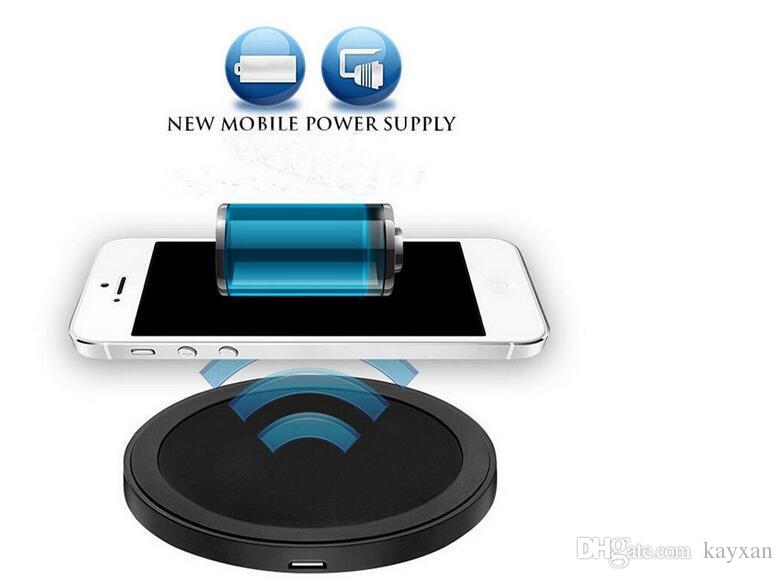 USB port Qi wireless charging pad charger for Samsung S8 Note 8 with universal battery in charge For Iphone 8 8 Plus