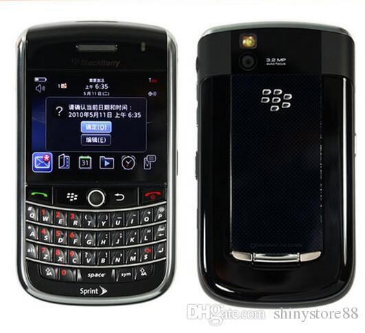 9630 الأصلي Unlocked BlackBerry Tour 9630 Bluetooth WiFi 3G 2.4 بوصة شاشة 3.15MP كاميرا تم تجديد الهاتف الذكي