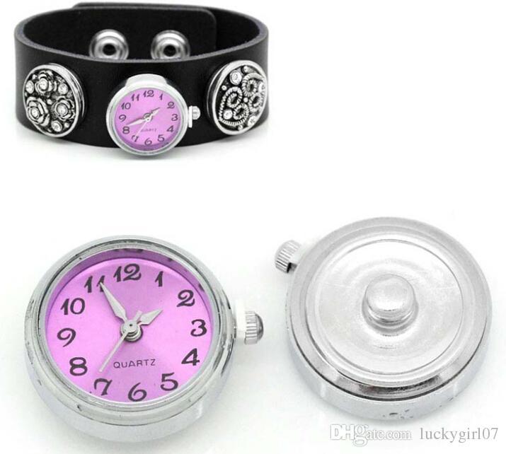 NOOSA 12 couleurs noosa watch Charms chunks singles Le bouton de gingembre s'encliquette 25x11mm bijoux interchangeables