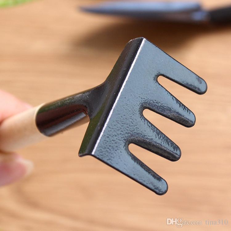1 مجموعة = 3 قطع البسيطة حديقة أدوات صغيرة مجرفة الخليع متعدد الوظائف البستنة أداة زرع النباتات المنزلية كسر مجرفة IA1013