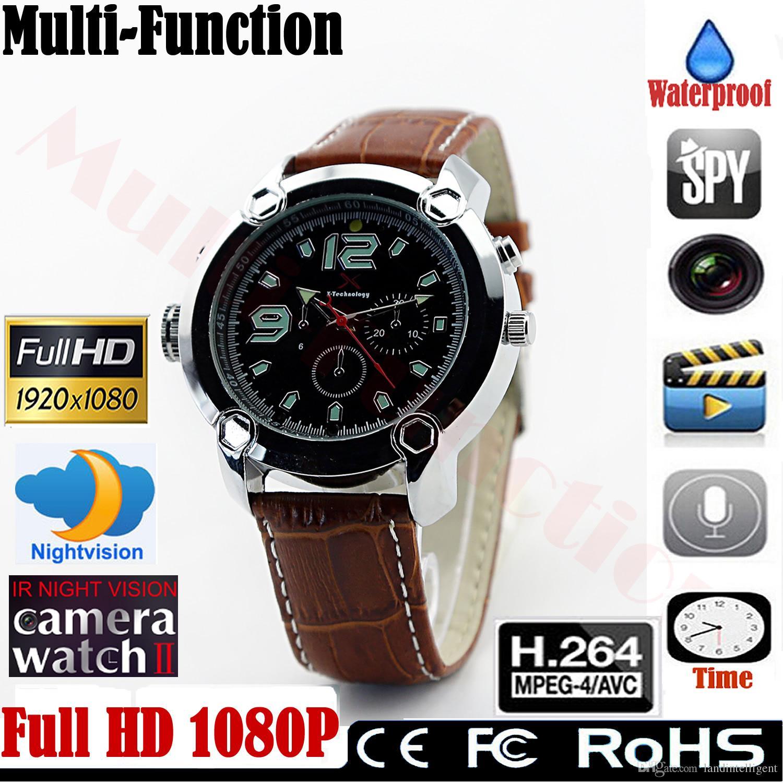 f322c547263 2019 Full HD Hidden Spy Camera 1920 1080P IR Night Vision Mini DVR  WristWatch Recording Watches H.264 Watch Waterproof 8GB 16GB 32GB From  Landintelligent