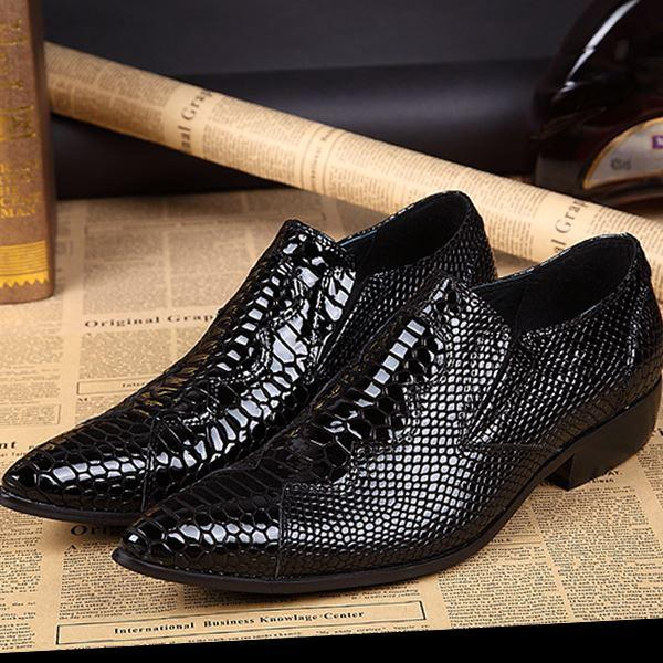 New Style 2015 Men Dress Shoes Summer Man Formal Shoes Leather