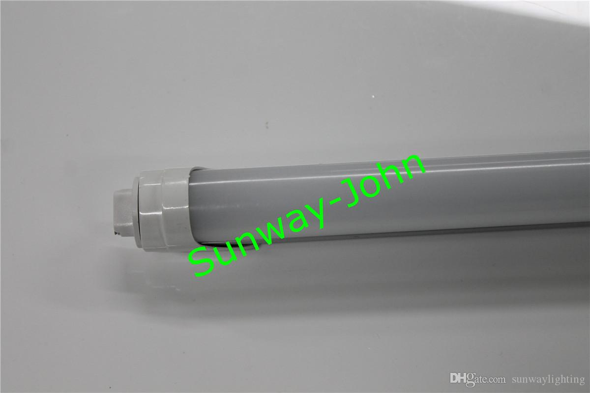 Duplo Row oito pés T8 Led Light Tubes FA8 único pino T8 Led Tubes 72W 7200 Lumens LED compras luz Stock nos EUA
