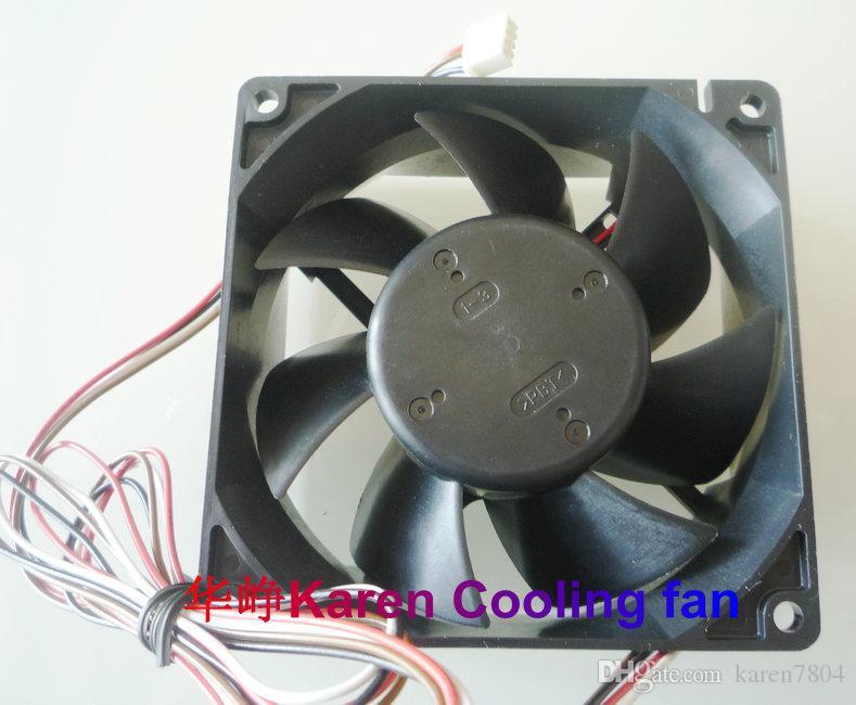 Original novo 9cm 3615KL-04W-B96 9238 12v 2.5a 4Wire ventilador de refrigeração