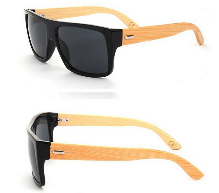 c9d3df5ba2af New 2015 Bamboo Sunglasses Men Wooden Sunglasses Women Brand Designer  Mirror Original Wood Sun Glasses Sunglasses Online with  5.57 Piece on  Szycd s Store ...