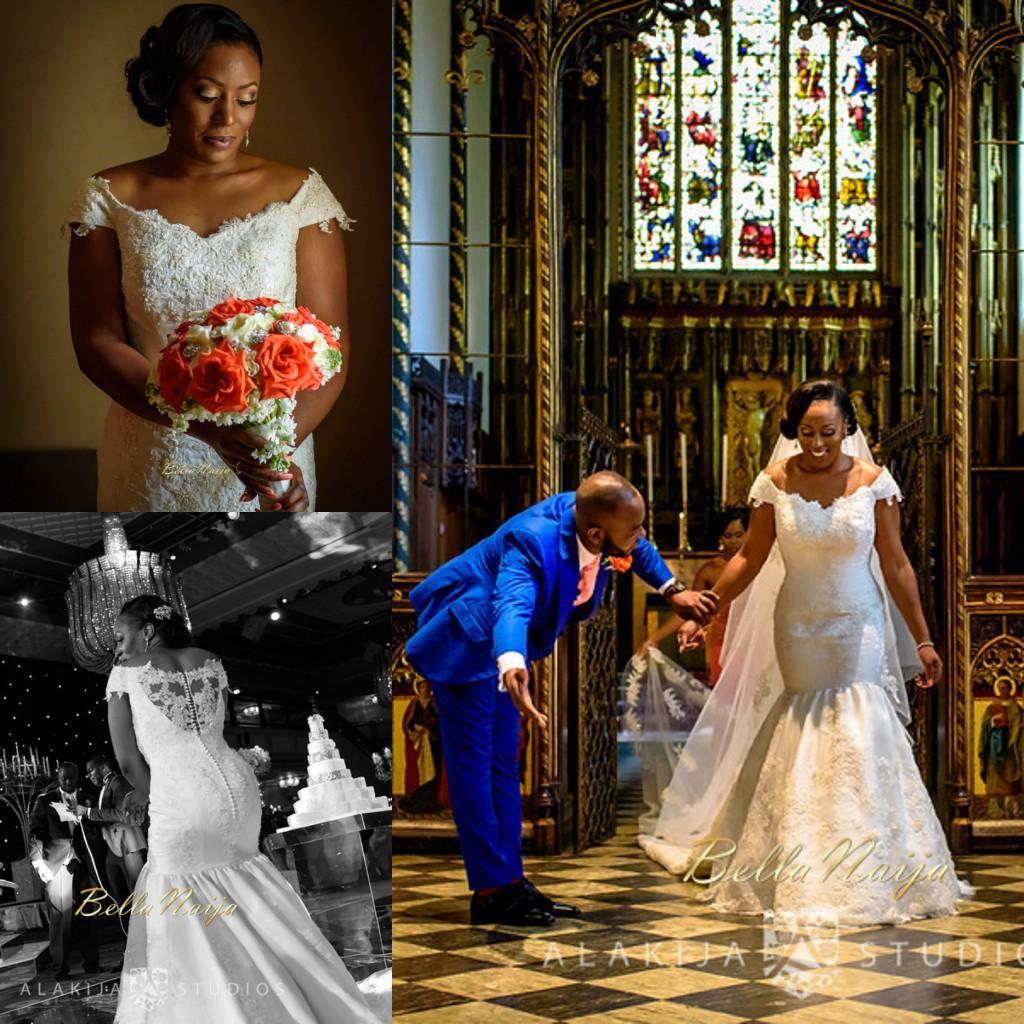 2015 Bellanaija Wedding Mermaid Dresses Nigerian Lace Aso