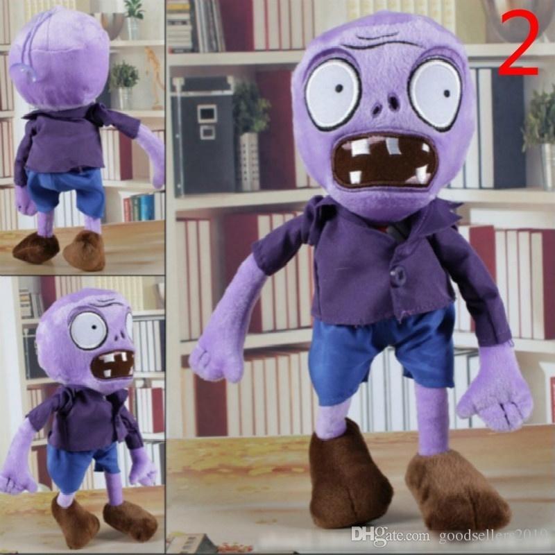 10 estilo 30 CM 12 '' Plants Vs Zombies Suave Juguete de Peluche Muñeca Figura de Juguete Del Bebé para los regalos de los niños