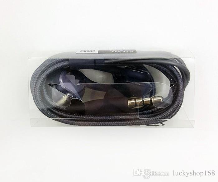 Yeni S8 Kulaklık Hakiki Siyah Kulak İçi Kulaklıklar EO-IG955BSEGWW Samsung Galaxy S8 S8 Artı OEM Kulakiçi Için Kulaklık Handsfree DHL