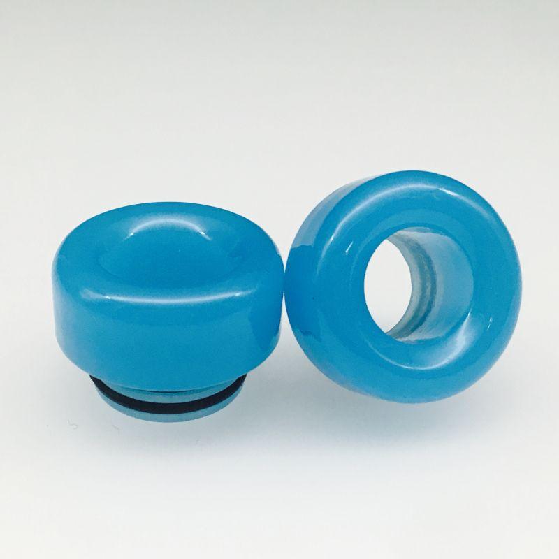 810 Drip Tips Jade Style Tophus Stone punta a goccia vaporizzatori con filettatura 810 Wide Bore Bocchino TFV8 TFV12 Kennedy RDA Atomizer