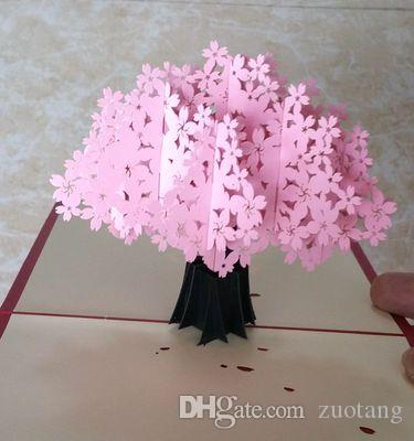 Handmade paper cut 3d stereoscopic flower greeting card folding type handmade paper cut 3d stereoscopic flower greeting card folding type unique creative chinese ethnic crafts cards gifts make greeting card make greeting m4hsunfo