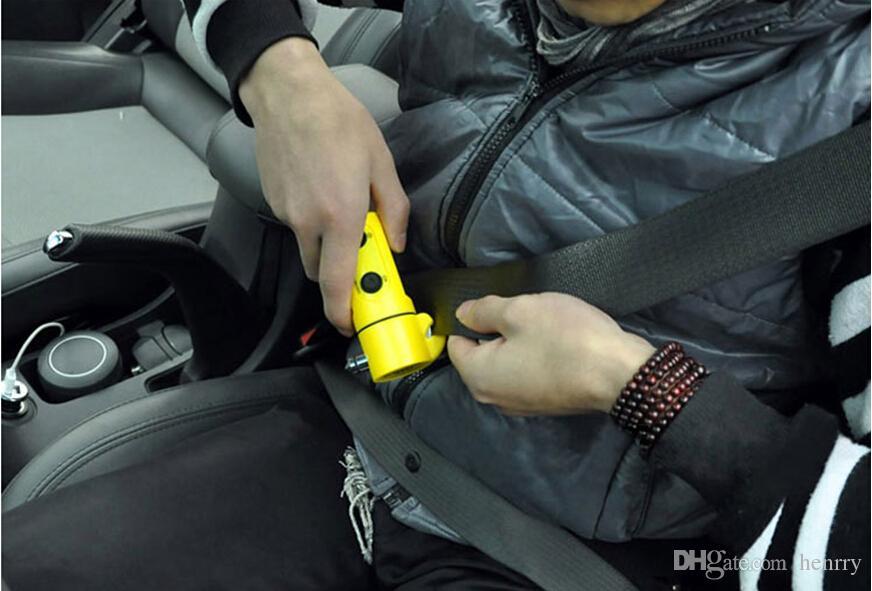 100 قطع المنقذة للحياة مطرقة السيارات الهروب مطرقة نافذة مكسورة هو أداة الطوارئ أربعة في واحد سلامة السيارة مطرقة متعددة الوظائف