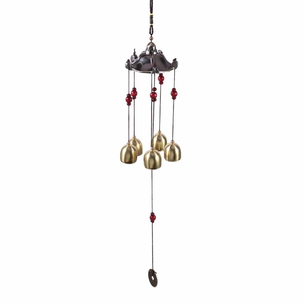 Best Wishes Aluminum Alloy Wind Chime Outdoor Living Wind Chimes Yard  Garden 5 Bells Copper Home Yard Decor Home Decor Shopping Home Decor Things  From ...