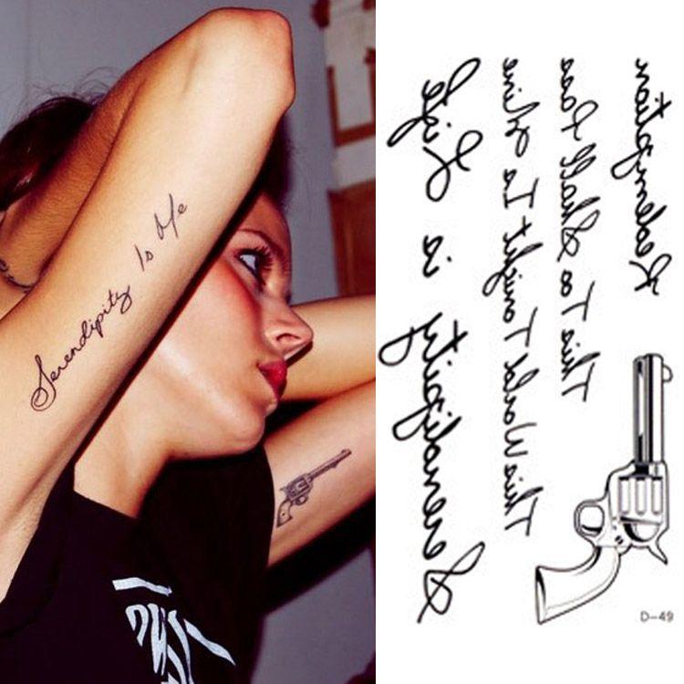 Wholesale Hot Sale Temporary Tattoo Stickers Temporary Body Art