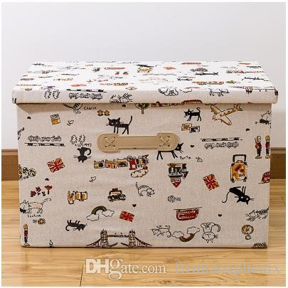 Multicolor Storage Bins Storage Boxes 3 size home finishing box laundry storage Clothes Storages large capacity