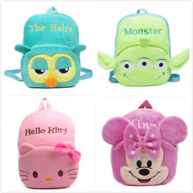 Cartoon Lovely Cute Baby Girls Bag Kids School Bags Infants Childs ...