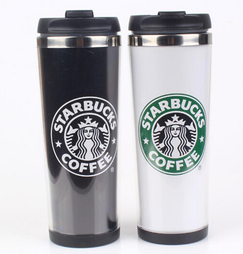 starbucks double wall stainless steel mug flexible cups coffee cup