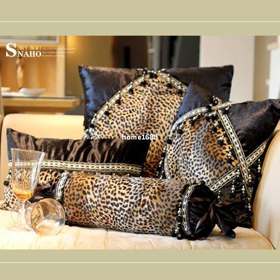 Awesome Modern Leopard Print Sofa Cushion Case Pillow