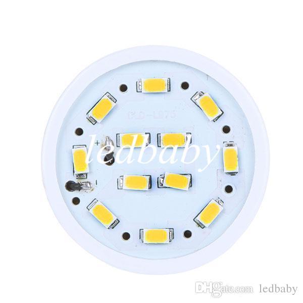 110V 220V 15W a mené la lumière blanche de maïs d'ampoules E27 E26 E14 B22 chaud / froid 5630SMD a mené des lumières économiseuses d'énergie