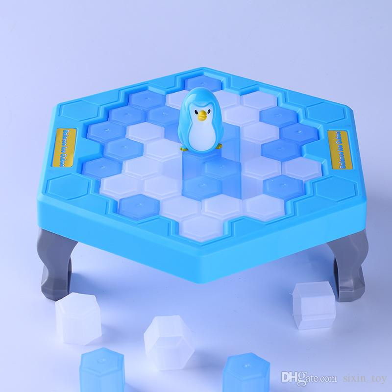 MINI Ice Breaking Save The Penguin Family Fun Game Penguin Trap Activate Funny Table Game Interactive Entertainment