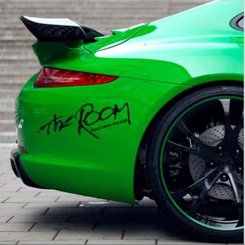 Cool The Room Racing Team Car Styling Sticker Fashion Race - Cars decal maker