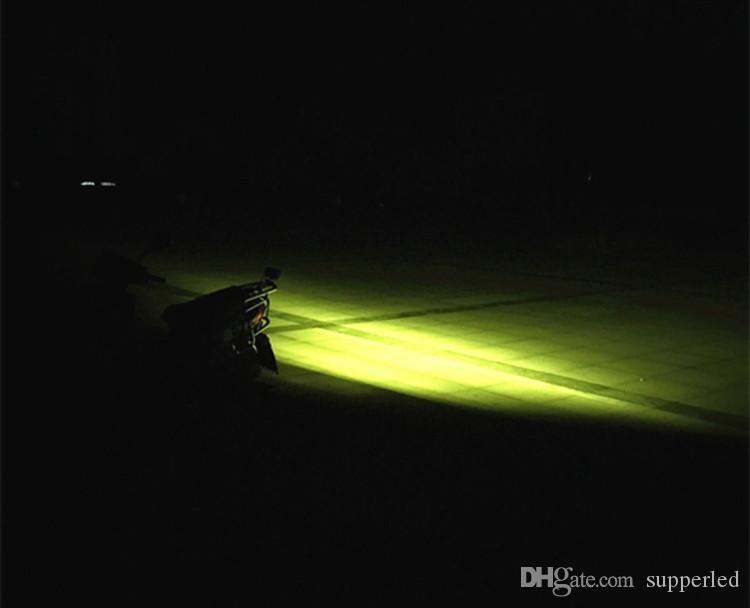 قاد المستطيل شاحنة الأضواء قاد المصباح سيارة lightlamp أبيض / أصفر ضوء 24 المصابيح 12v / 24v ضوء الضباب