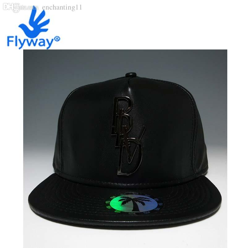 2019 Wholesale Cap Hat Hip Hop Snapback Original Full Black Leather BLVD  SUPPLY Gansta Bulls From Enchanting11 fb1cfd728b15