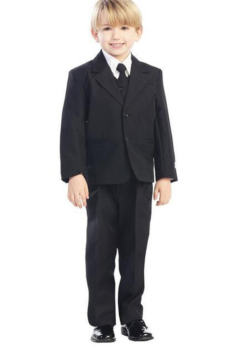 They are also extremely comfortable for kids to wear through the day without getting itchy and restless. Nothing looks more adorable than a young boy in a fashionable suit. Choose boys' dress shirts in colors that suit your child and prints that best express his personality.