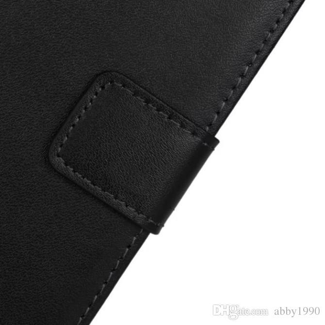 Atacado Chegam Novas Carteira de Couro Genuíno Capa Flip Caso de Telefone para Microsoft Lumia 535 RM-1089 Frete Grátis