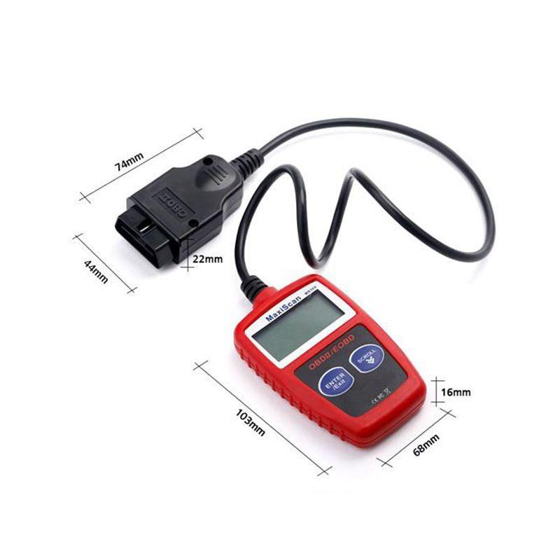 MaxiScan MS309 Autel CAN OBD2 Scanner Codice Reader OBDII Auto Scanner Auto Strumento Diagnostico ms309 Spedizione Gratuita