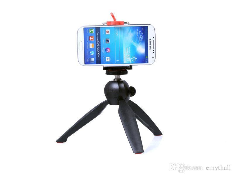 New YUNTENG 228 Brand MINI Tripod with Clip holder for Selfie GoPro Camera / DSLR Digital Camera iPhone 5 6 plus smart phone