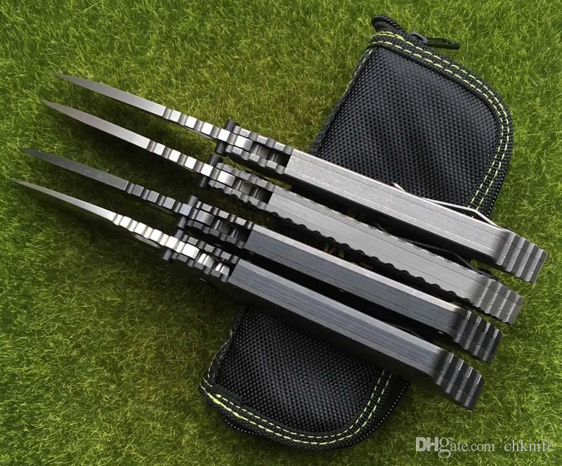 Oem smf fibra de carbono titanium handle d2 lâmina de cobre arruela faca dobrável cozinha ao ar livre utility facas multi ferramentas edc