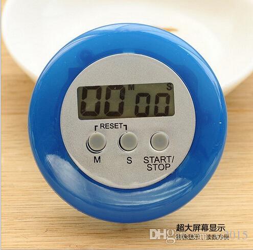nouveauté numérique cuisine minuteur Aide de cuisine Mini Numérique LCD Cuisine Compte à rebours Clip Timer Alarme expédition rapide