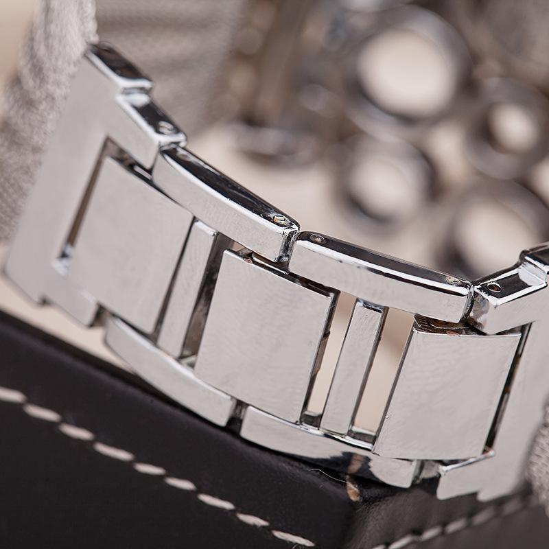 DHL luxo moda pulseira relógio mulheres Popular hot UE EUA pulseira de malha de diamante senhoras acessórios de moda relógios de quartzo vestido relógio de pulso