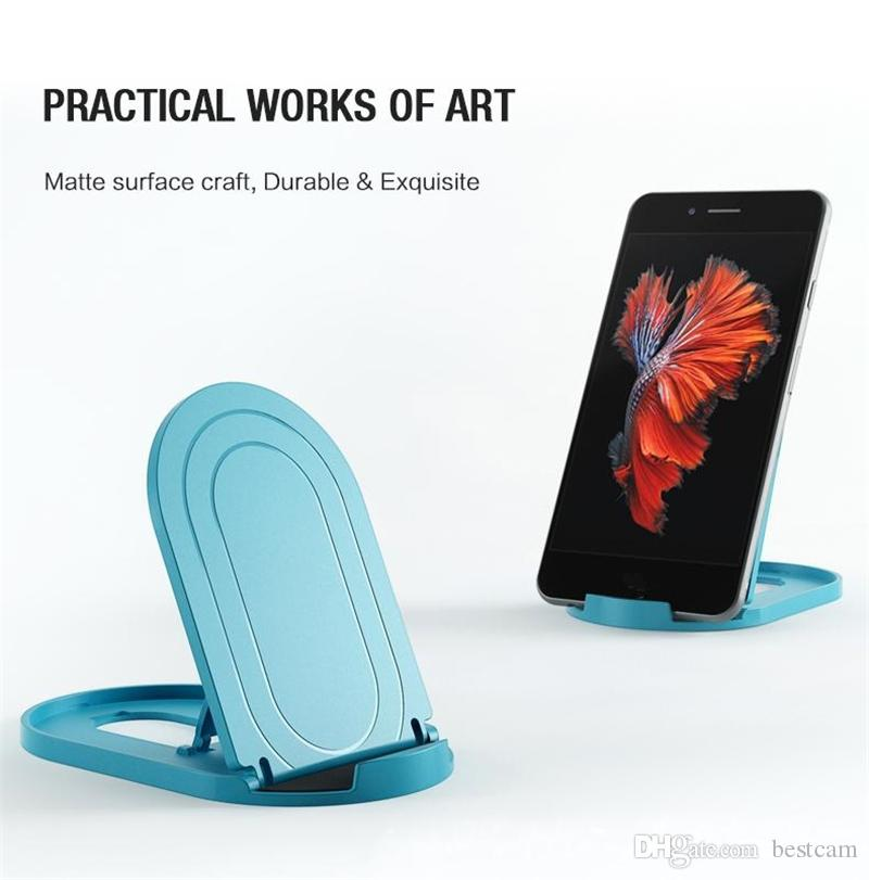 Desk Mount Holder for Mobile Phone Foldable Tablet Stand Universal Portable Cellphone Holder For Samsung iPhone Most Smartphone Tablet