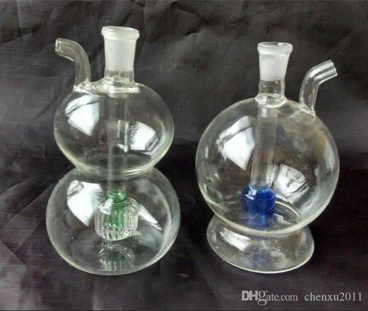 Variété de narguilé en verre, envoyer des accessoires, livraison aléatoire de style, accessoires de narguilé en gros, livraison gratuite