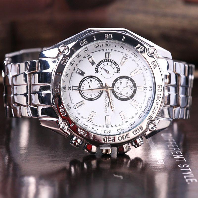 083532f1617 Luxury Fashion Men Stainless Steel Quartz Analog Hand Sport Wrist Watch  Watches Men Watch Online with  11.68 Piece on Mr huang s Store