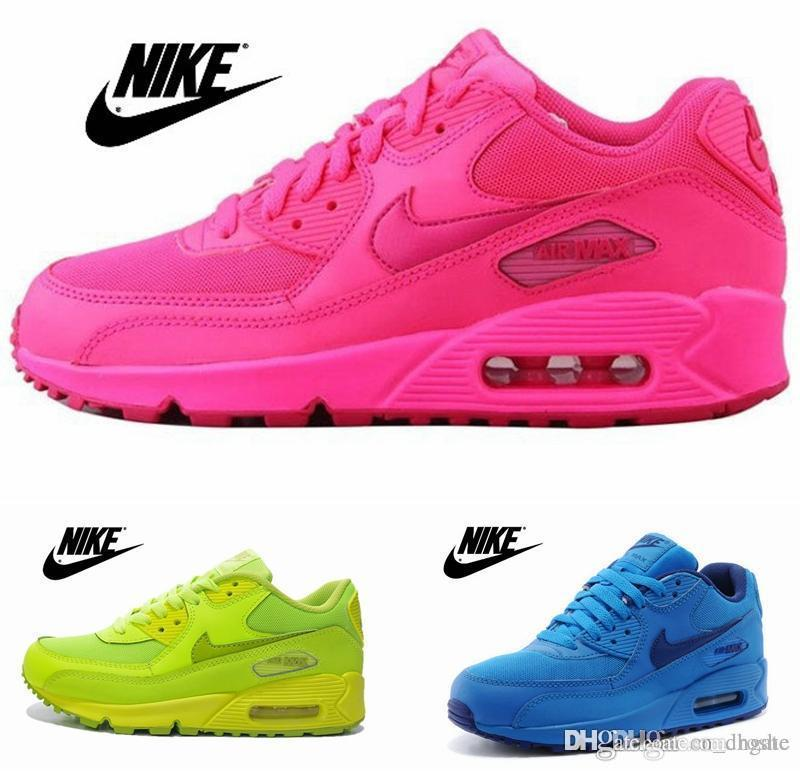 reputable site 5ee13 161fd ... All Pink Air Max 90 Gs Hyper Pink .