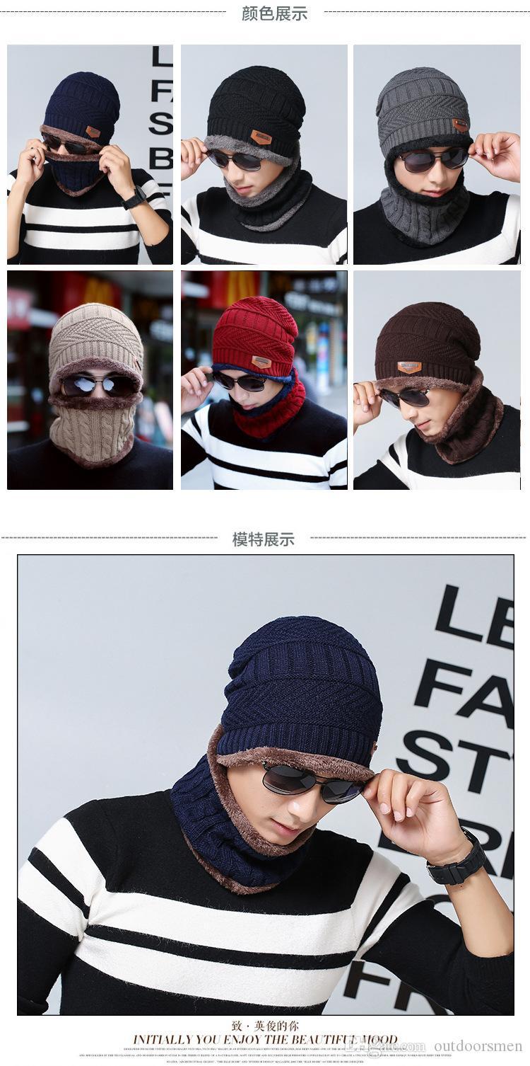 2017 Mode Chaud Cap Skullies Bonnets Chapeau D'hiver pour Femmes Hommes Chapeau De Laine Unisexe Cap Beanie Bonnets Tricotés En Plein Air Sport Chapeau Chaud
