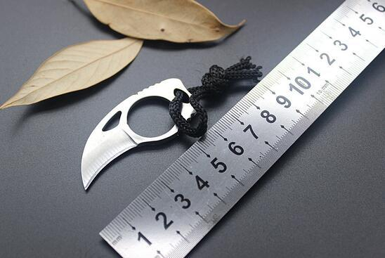 Handmade Combat Tactical Claw hobby survival Karambit Ring 3