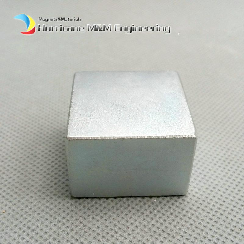 1 Pack Grade N52 NdFeB Block 30x30x20 mm about 1.18'' Rectangle Strong Neodymium Magnets Rare Earth Permanent Magnets Industry Magnets