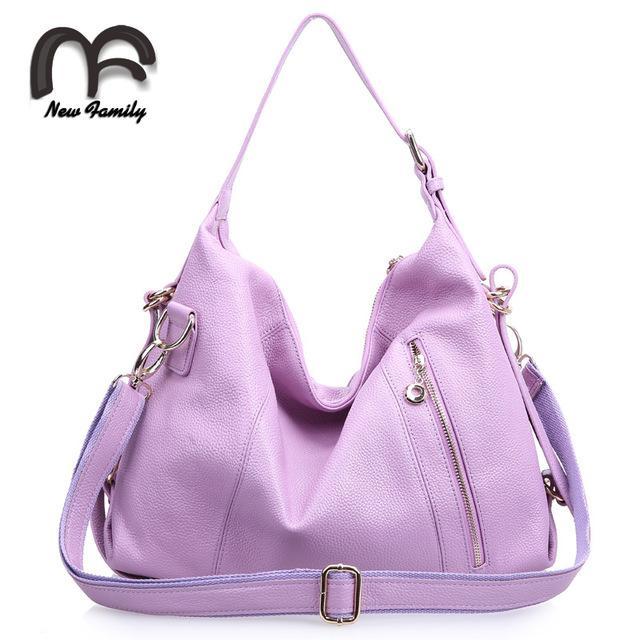 Fashion Women Messenger Bags Genuine Leather Ladies Handbags ...