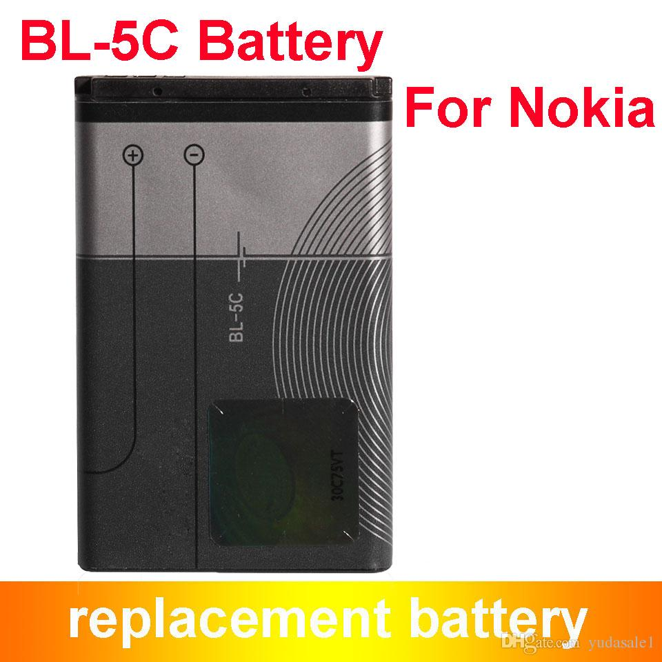 Cheapest Hot Selling Bl 5c Bl5c Replacement Battery For2310 3100 Baterai Nokia Bl4c 6030 6230 3120 1020mah2310 Battery6230 Batterybl Online With