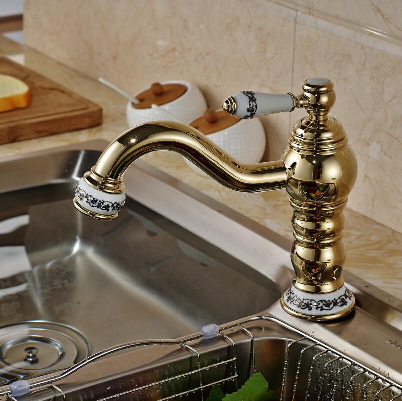 2018 New Arrival Ceramic Handle Kitchen Sink Faucet Single 360 ...