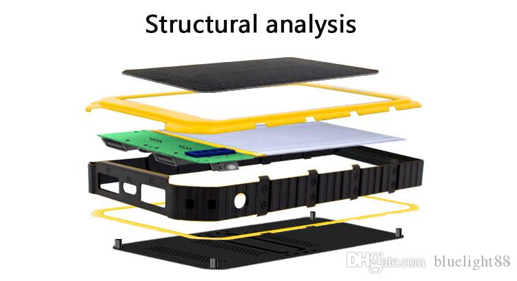 20000mAh Novel solar Power Bank Ultra-thin Waterproof Solar Power Banks 2A Output Cell Phone Portable Charger Solar Powerbank