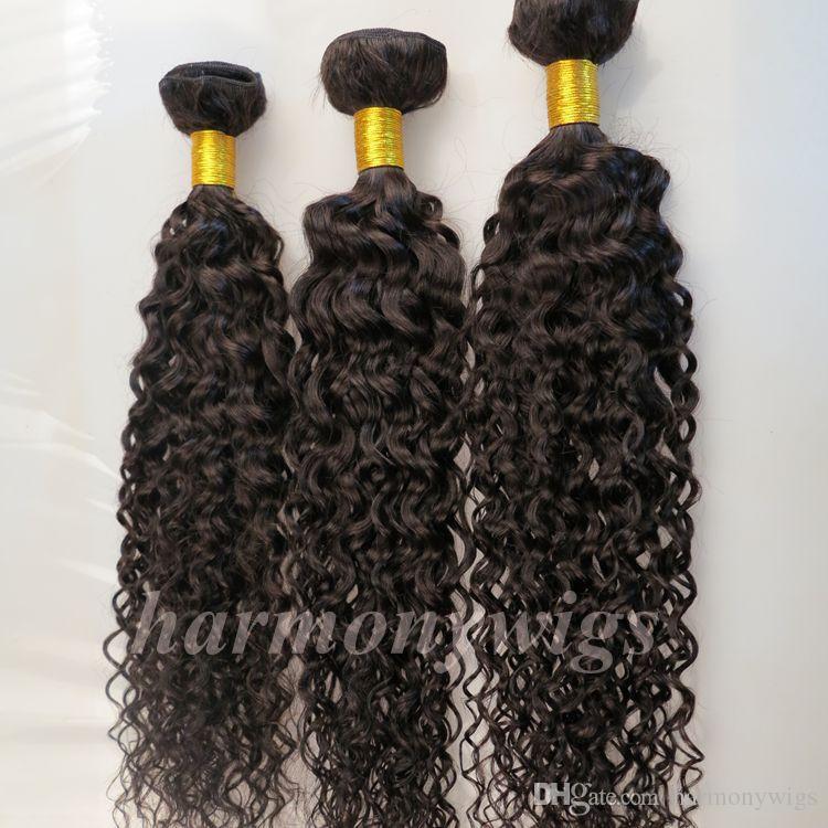 Девы человеческих волос соткет бразильские утки волос Джерри вьющиеся пучки 8-34inch необработанное перуанский Индийский монгольский Виргинские наращивание волос навалом