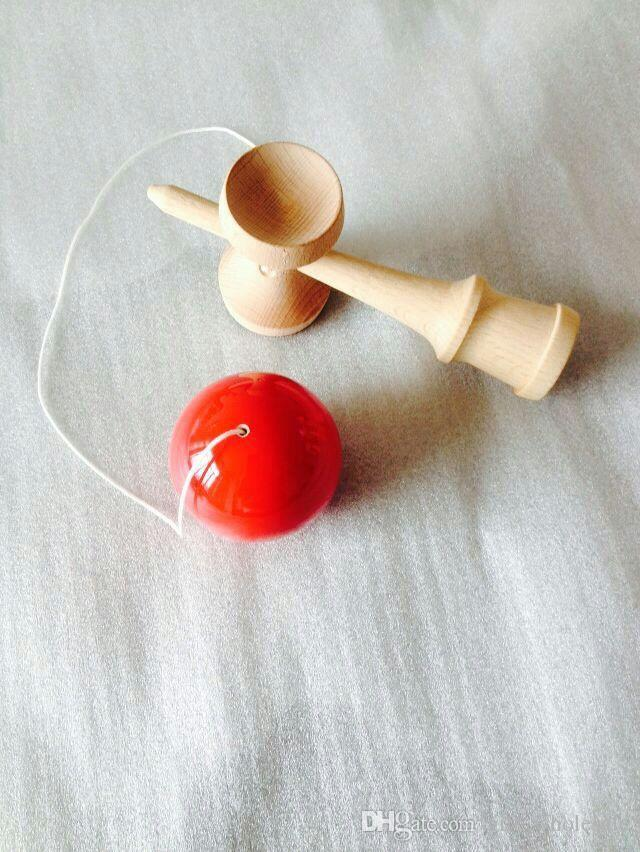 18.5CM strings crack ball Kendama Ball Japanese Traditional Wood Game Toy Education Gifts Hot Sale