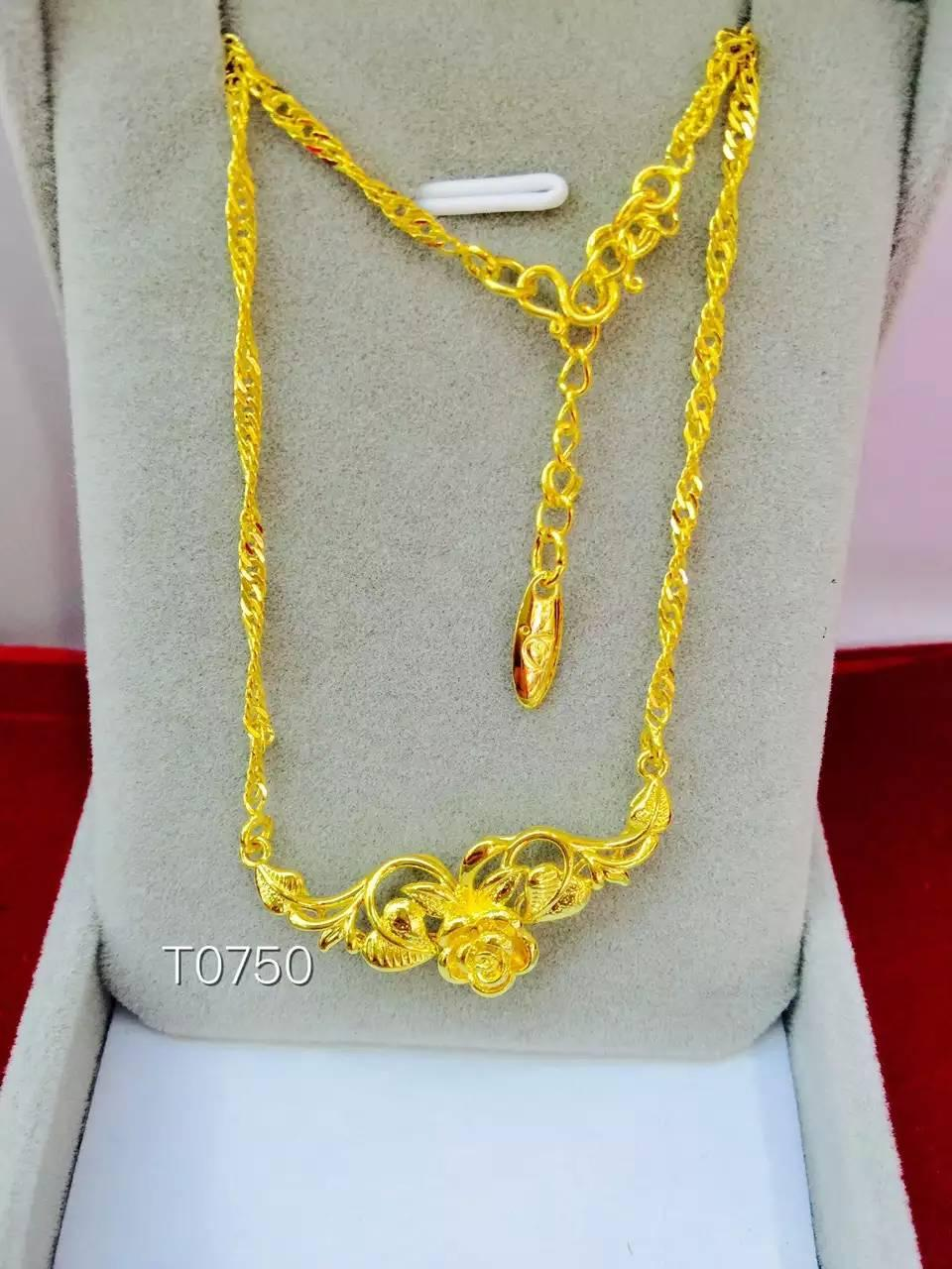 24k gold filled necklace Women Necklace