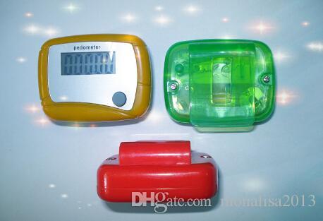 Yeni Cep LCD Pedometre Mini Tek Fonksiyonlu Pedometre Adım Sayacı LCD Run Adım Pedometre Dijital Paketi ile Yürüyüş Sayaç
