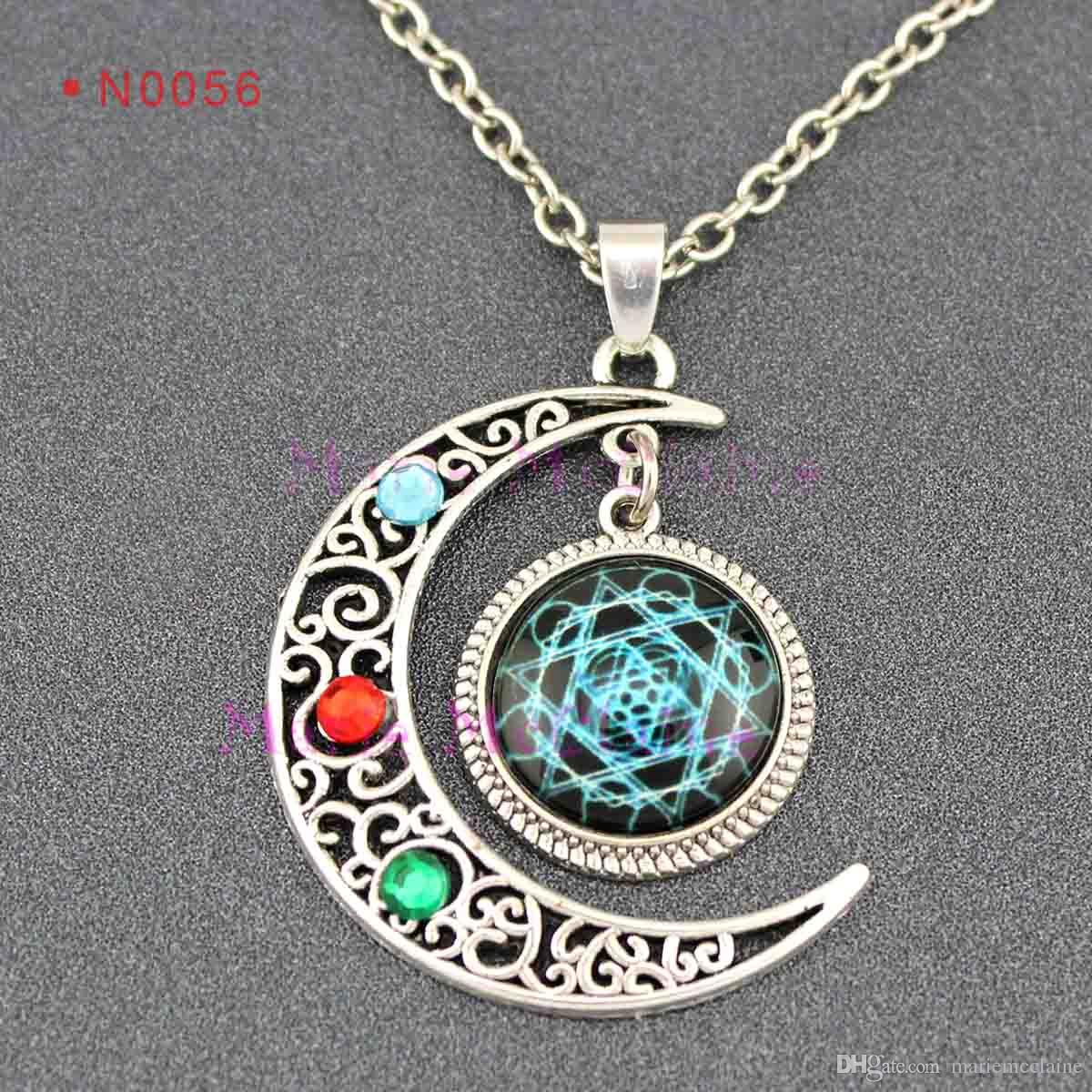 Nebula Moon Necklace (page 2) - Pics about space