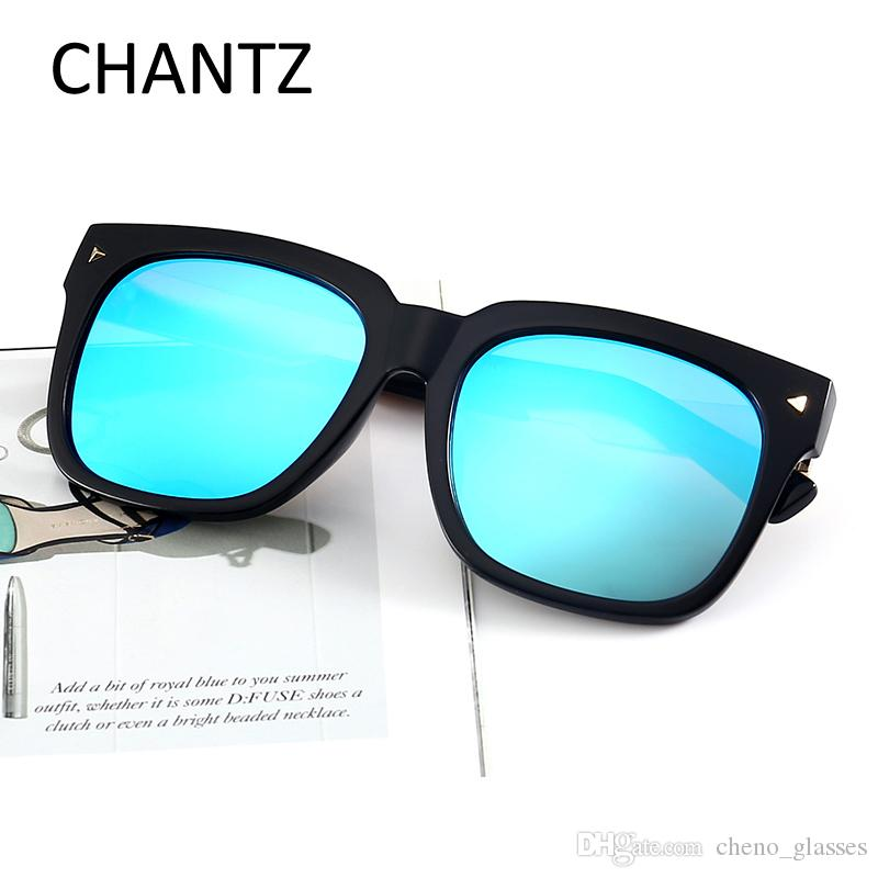 cbcedd3b951a0 Retro Oversize Polarized Sunglasses Women Men Square Mirror Sun ...